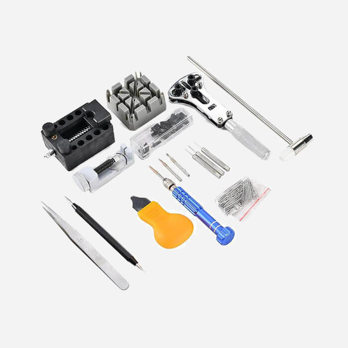 144 pcs Portable DIY Watch Repair Tool Kit